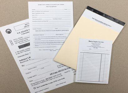 Carbonless Copy Forms